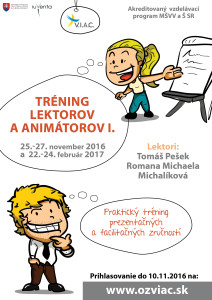tréning lektorov