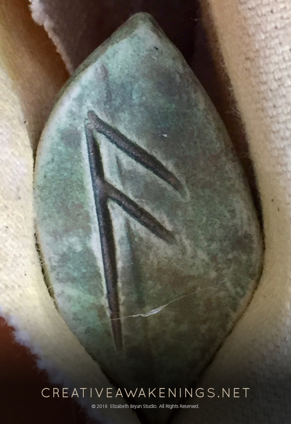 Ansuz, the Messenger Rune