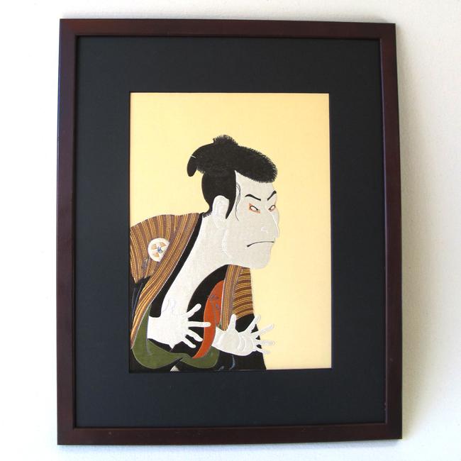 Kabuki Actor by Toshusai Sharaku