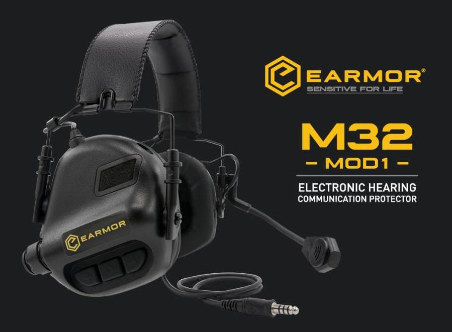 Earmor M32 Electronic Communication Hearing Protector | Tactical 74