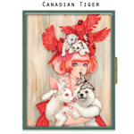 Canadian Tiger Wallet Case