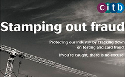 CITB: Stamping out fraud