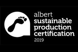 Albert sustainable production certification 2019