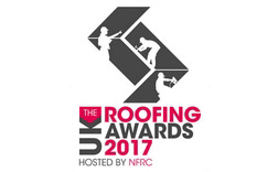 UK roofing awards 2017 logo