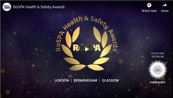 ROSPA health and safety awards logo