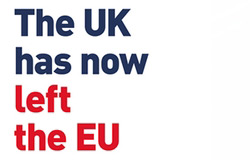 The UK has now left the EU