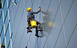 Working at height using ropes