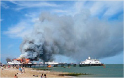 Worker death at Eastbourne Pier