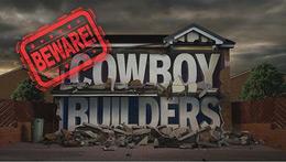 Beware cowboy builders