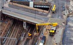 Rail working