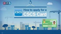 CSCS card application