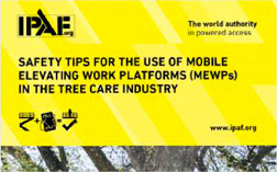 Tree care when using MEWPs
