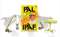 IPAF 500,000 PAL cards
