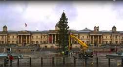 Christmas tree installation