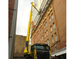 Window maintenance from cherry picker