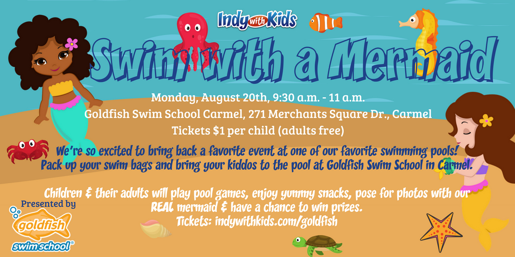 (SOLD OUT) Swim with a Mermaid PLAYdate at Goldfish Swim School