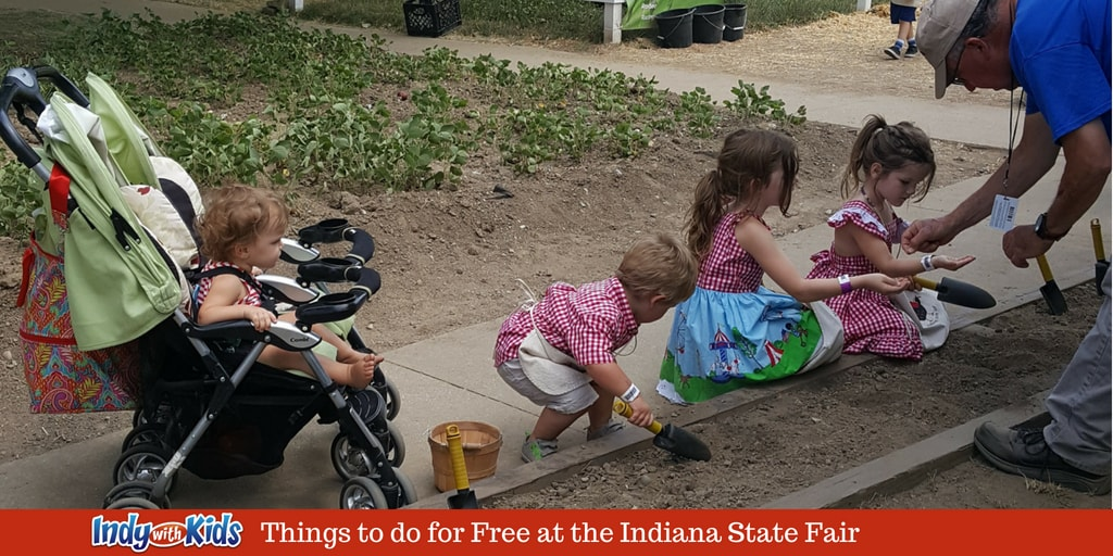 Free Things to do with Kids at the Indiana State Fair