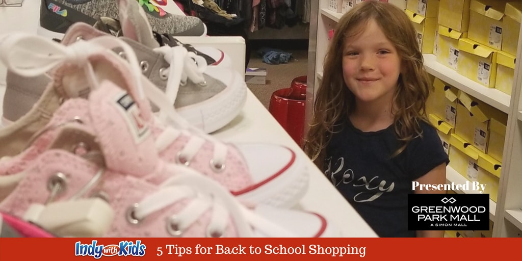 5 Tips for Back to School Shopping