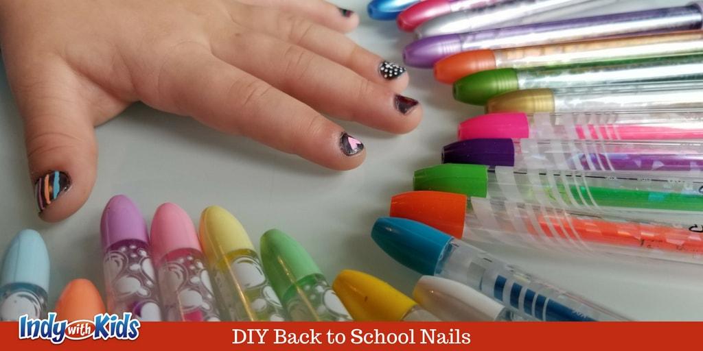 DIY Nail Designs Using Gel Pens | Featuring Pentel POP