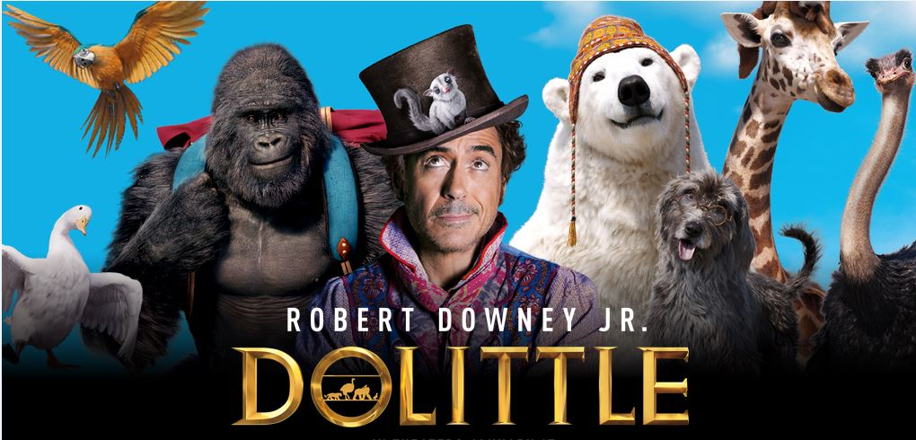 Dolittle the movie advertisement