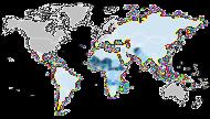 Mapa Mundial de Alfabetización UNESCO