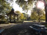 Myatt's Fields Park bandstand