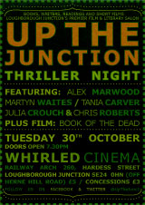 Up the Junction Thriller Night poster
