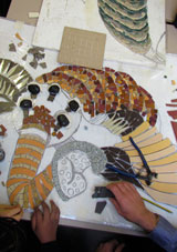 Mosaic making photo