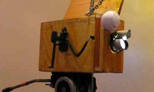 Lightweight hand crank camera