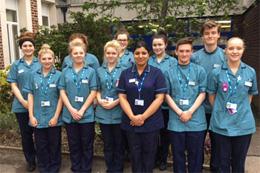 Image: Nursing Degree Apprenticeship.