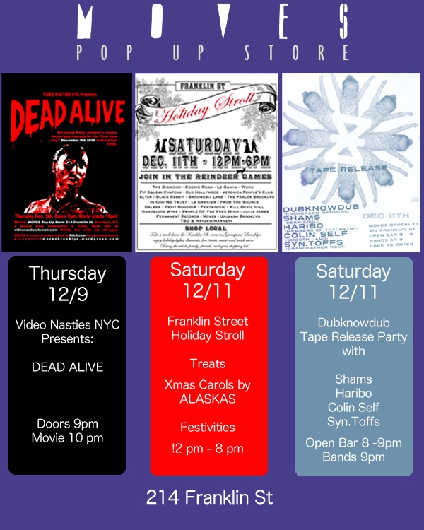 upcoming events at moves visit movesbrooklyn.wordpress.com for more info