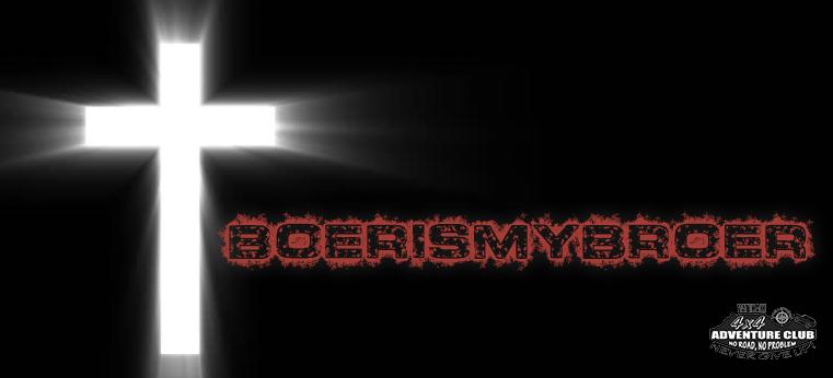 #BoerIsMyBroer Protest