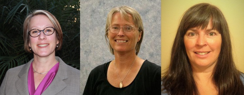 Dawn Murphy, Vicky Eiben, and Stacey Waterman-Hoey