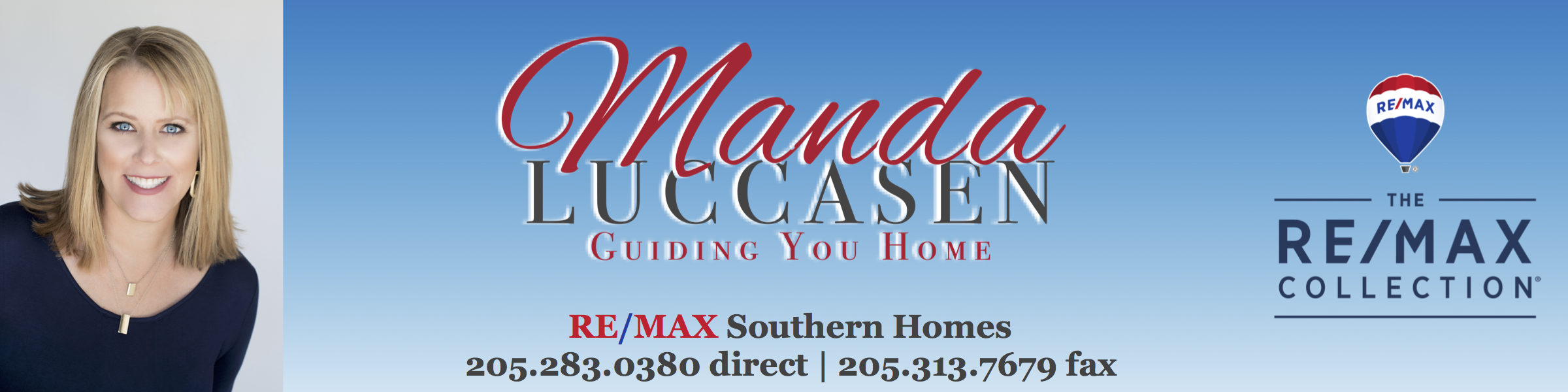 Manda Luccasen | RE/MAX Southern Homes
