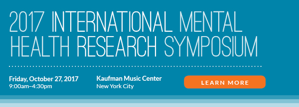 Learn more about our upcoming International Mental Health Research Symposium