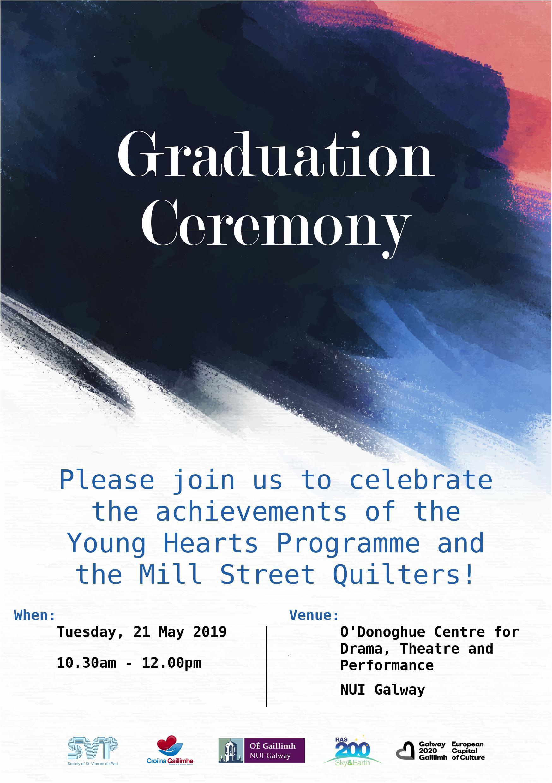 Graduation Ceremony Invitation