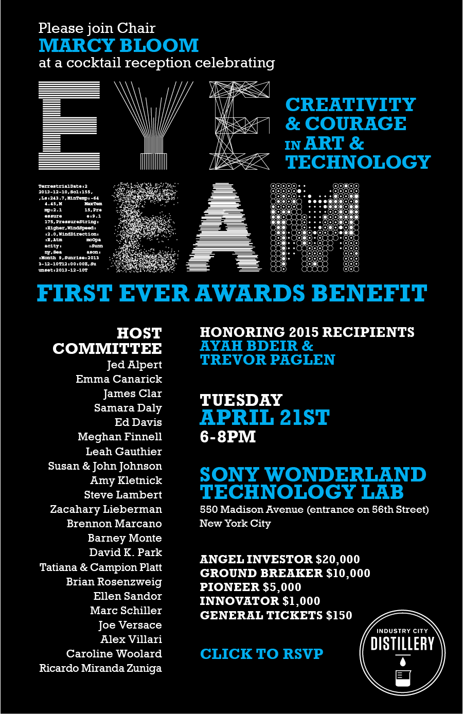 EYEBEAM Benefit 2015