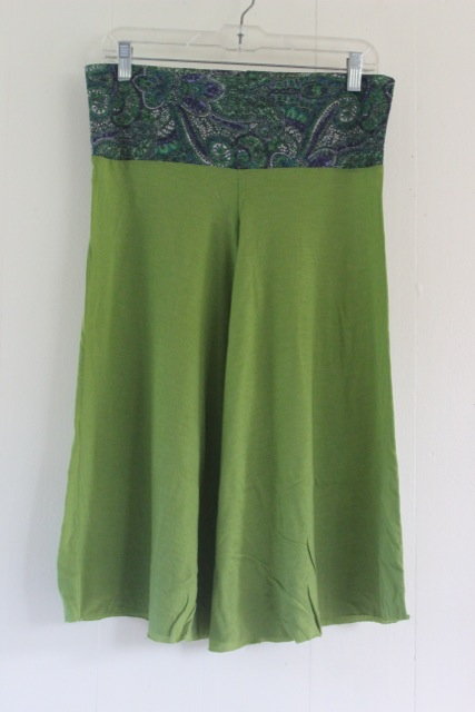 Green Lace Pirouette Pants