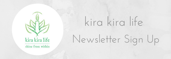 kira kira life newsletter sign up