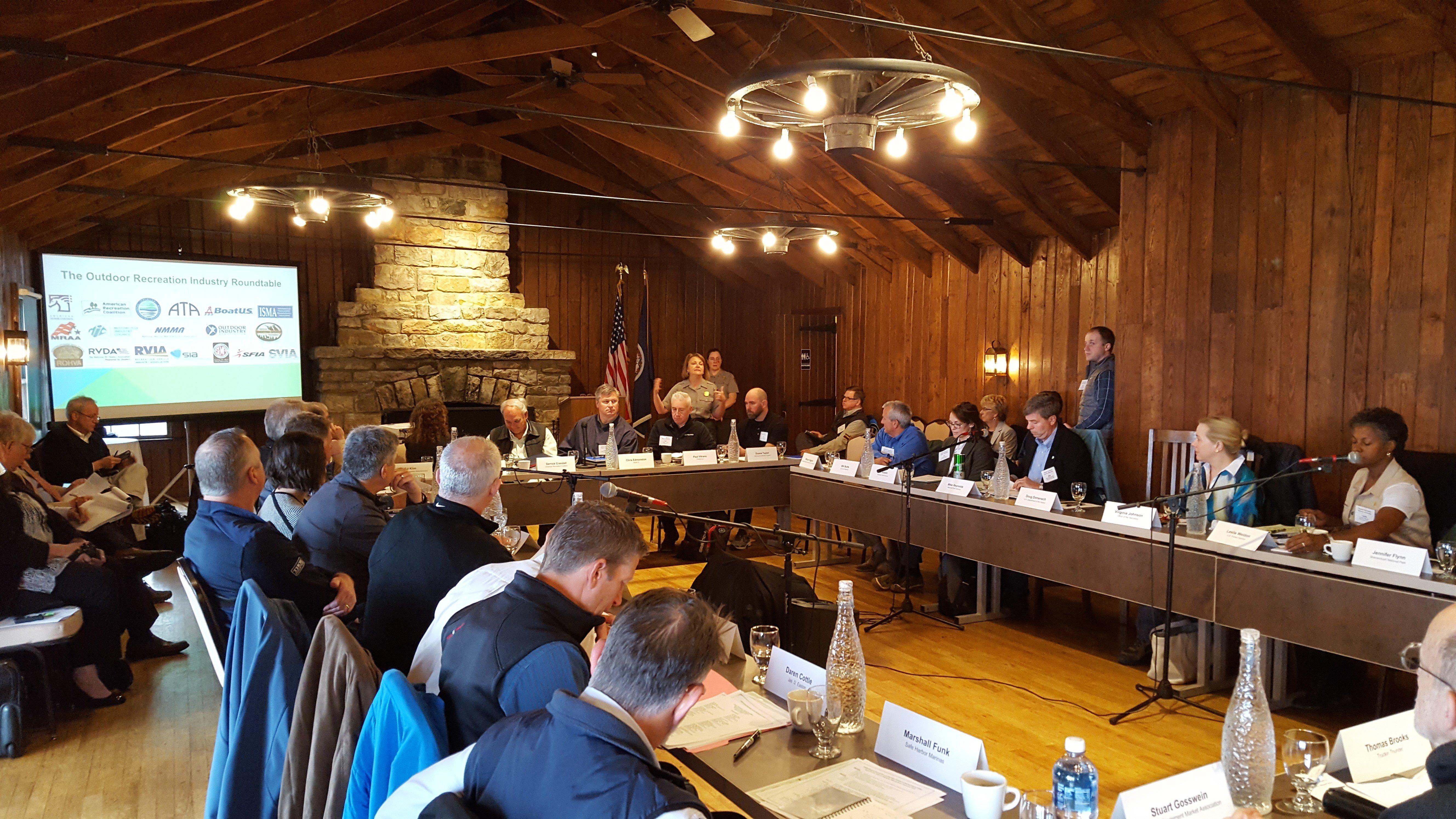 Rec Leaders Meet at Skyland Resort