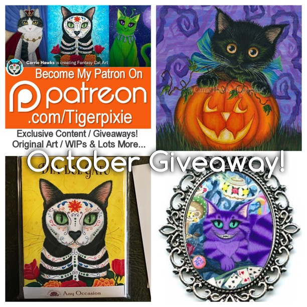 Tigerpixie Patreon October Giveaway
