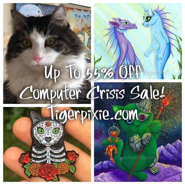 Computer Crisis Studio Sale Tigerpixie.com