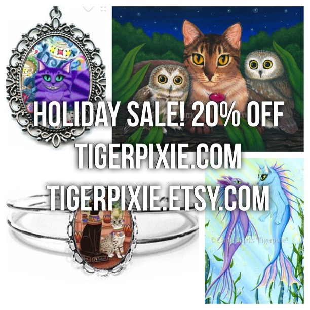 Tigerpixie.com Holiday Sale 20% Off