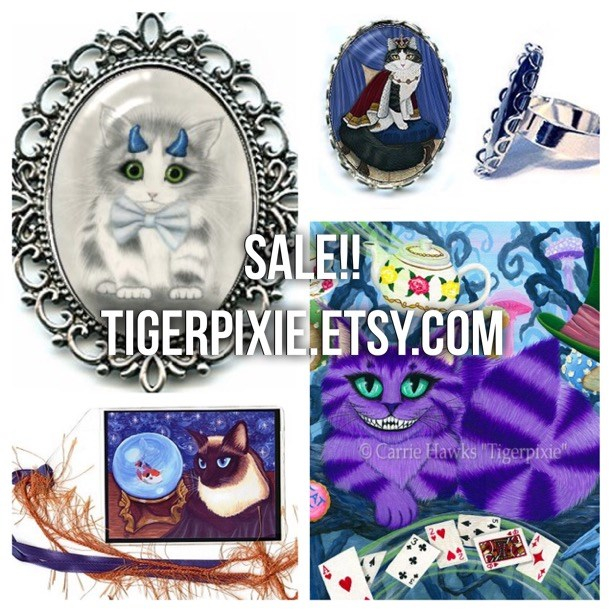 Tigerpixie Etsy Shop 20% Off Tigerpixie.etsy.com