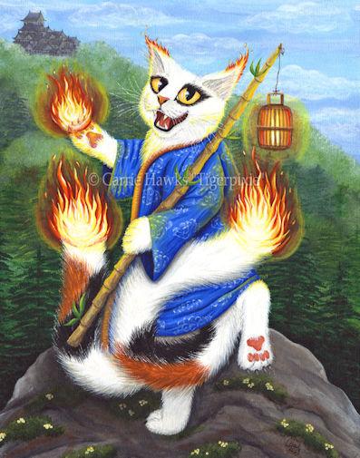 Bakeneko Nekomata Carrie Hawks Tigerpixie.com