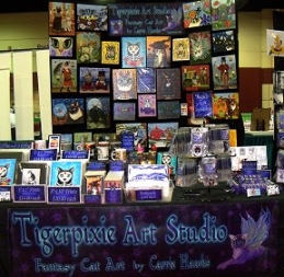 Tigerpixie Art Studio, Carrie Hawks, Upcoming Appearances