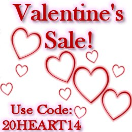 Tigerpixie Valentine's Sale!