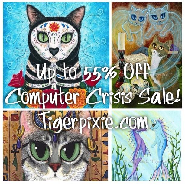 Computer Crisis Sale Tigerpixie.com