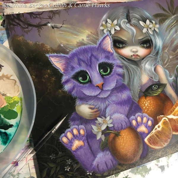 Orange Blossoms ©Carrie Hawks and Jasmine Becket-Griffith