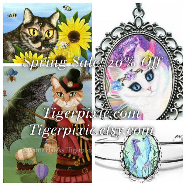 Tigerpixie.com Spring Sale 20% Off